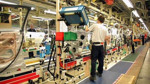 Lean Production: Toyota Production System Assembly line